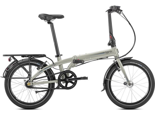 tern link d7i  tern Link D7i Bicicletta pieghevole 20 grigio su Bikester